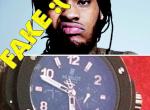 Il dénonce les rappeurs qui portent des fausses montres
