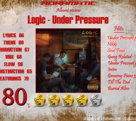 Logic – Under Pressure (review – 80%)