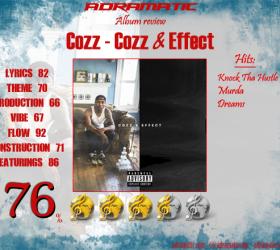 Cozz – Cozz & Effect (review – 76%)