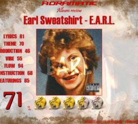 Earl Sweatshirt – Earl (review – 71%) – 2010