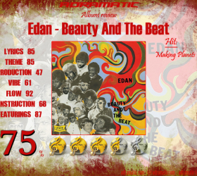 Edan – Beauty And The Beat (review – 75%) – 2005