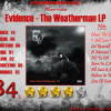 Evidence – The Weatherman LP (review – 84%) – 2007