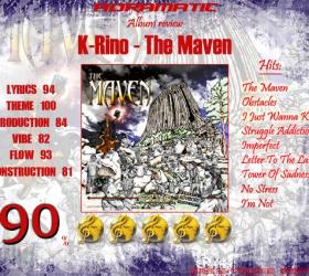 K-Rino – The Maven (review – 90%) – 2013