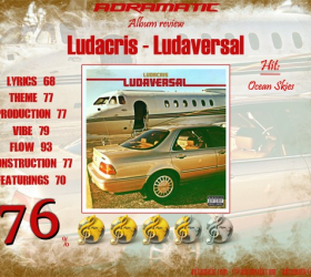 Ludacris – Ludaversal (review – 76%)