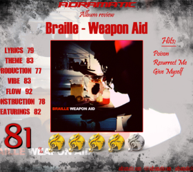 BRAILLE – Weapon Aid (review – 81%) – 2010
