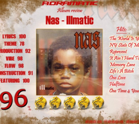Nas – Illmatic (review – 96%) – 1994