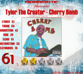 Tyler The Creator – Cherry Bomb (review – 61%)