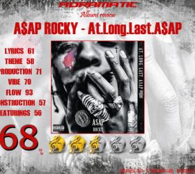 A$AP ROCKY – At.Long.Last.A$AP (review – 68%)