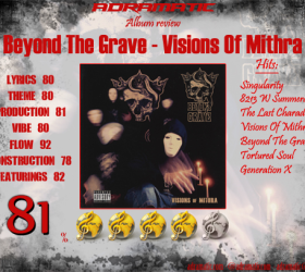 Beyond The Grave – Visions Of Mithra (review – 81%)