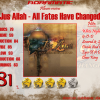 JUS ALLAH – All Fates Have Changed (review – 81%) – 2005