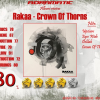 RAKAA – Crown Of Thorns (review – 80%) – 2010