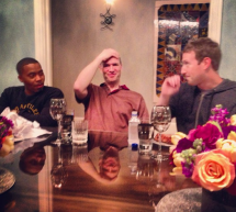Nas et Mark Zuckerberg (photo)