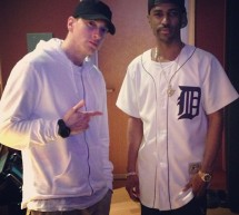 Eminem en studio avec Big Sean (photos)