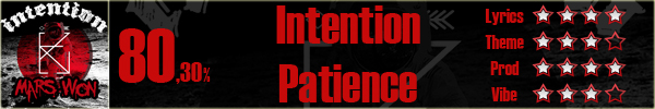 Intention-Patience