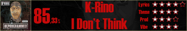 K-Rino-IDontThink