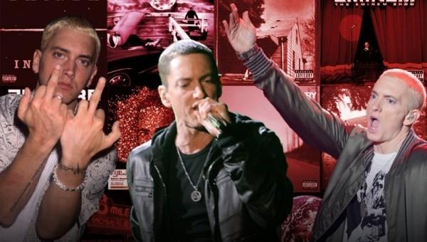 Spin classe les 289 chansons d'Eminem
