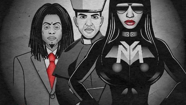Nicki Minaj ft Drake, Lil Wayne & Chris Brown – Only