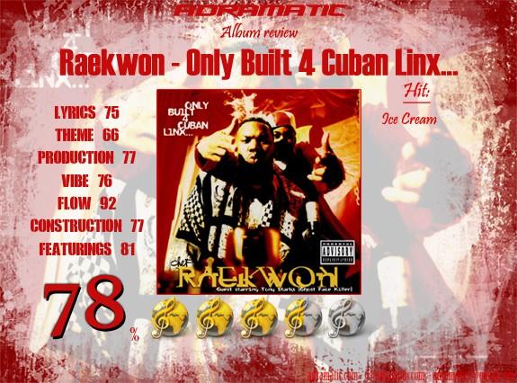 Raekwon-Only Built 4 Cuban Linx