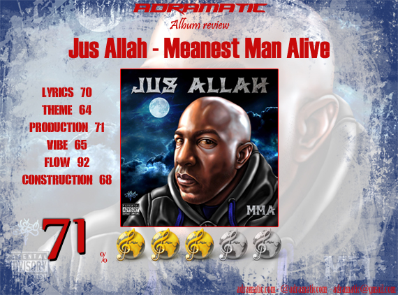 JusAllah-MeanestManAlive