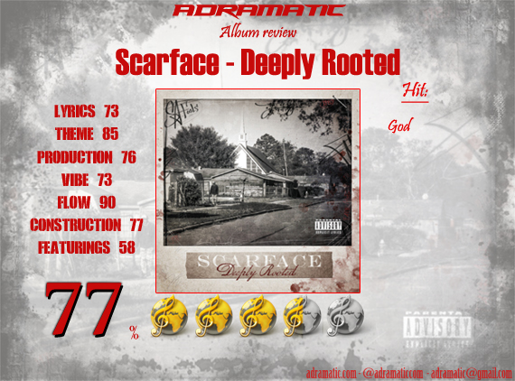 Scarface deeply rooted (cd).