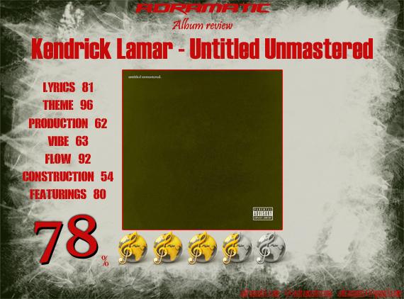 KendrickLamar-UntitledUnmastered