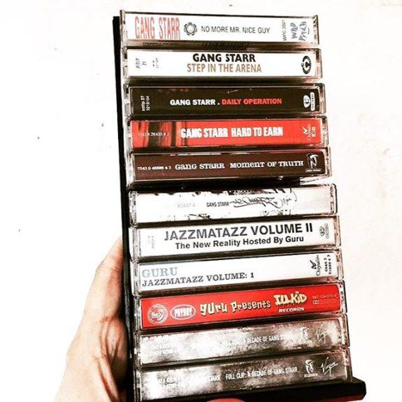 les cassettes de gangstarr