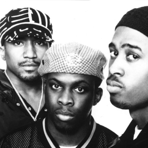 A Tribe Called Quest: Q-Tip, Phife, Ali Shaheed Muhammad.