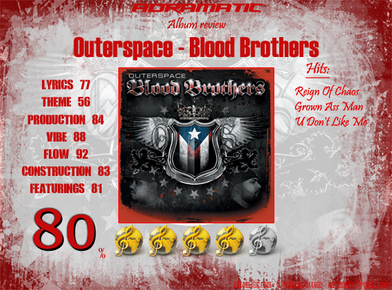 Outerspace-BloodBrothers