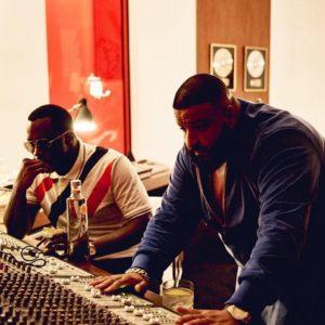 DJ Khaled et P Diddy en studio
