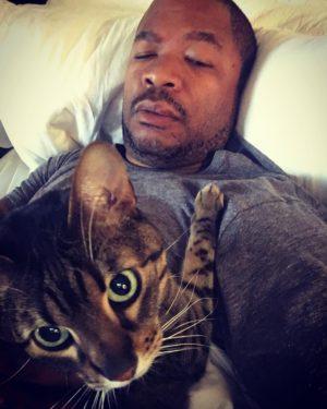Xzibit et son chat